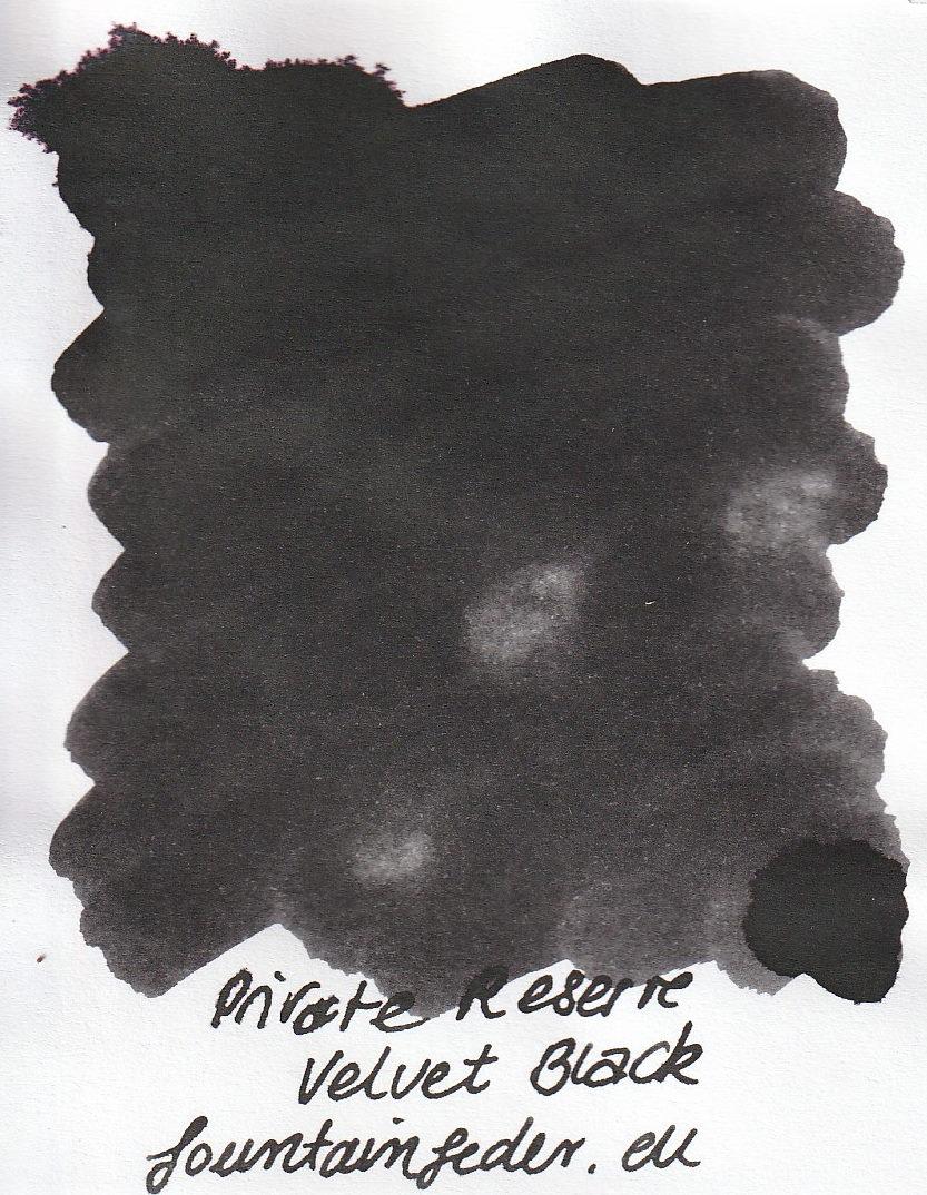 Private Reserve - Velvet Black Ink Sample 2ml