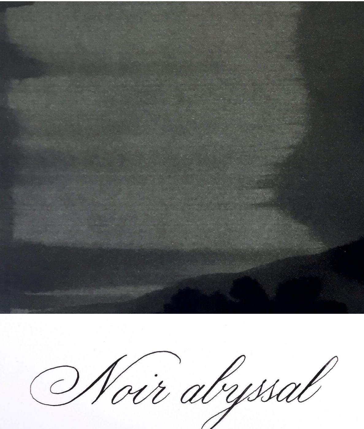 Jacques Herbin  - Noir abyssal  Ink Sample 2ml