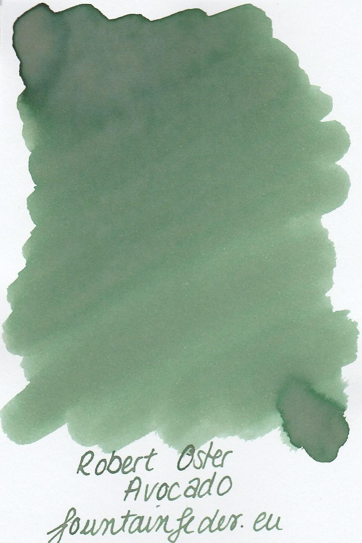 Robert Oster - Avocado Ink Sample 2ml