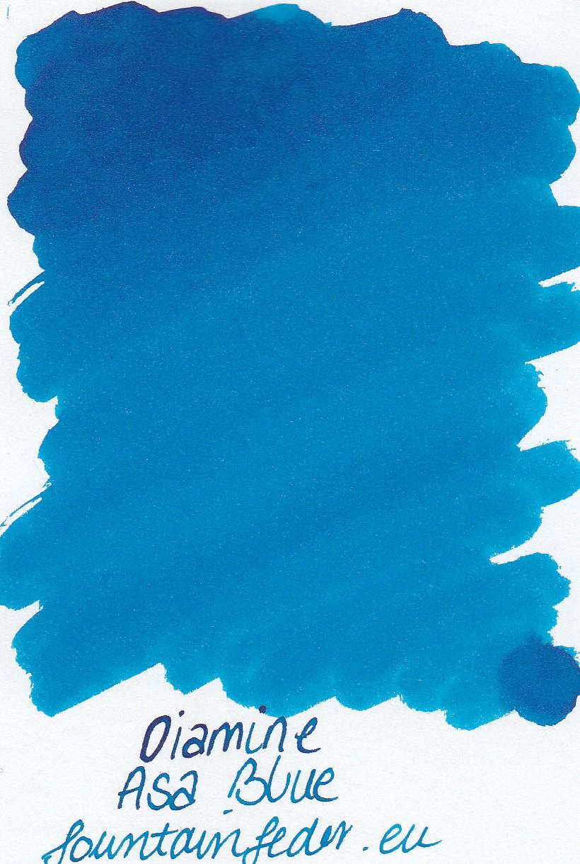 Diamine Asa Blue Ink Sample 2ml