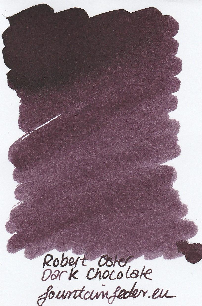 Robert Oster - Dark Chocolate Ink Sample 2ml