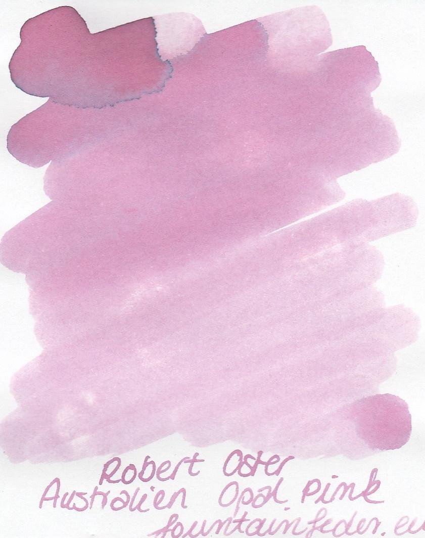 Robert Oster - Australian Opal Pink Ink Sample 2ml