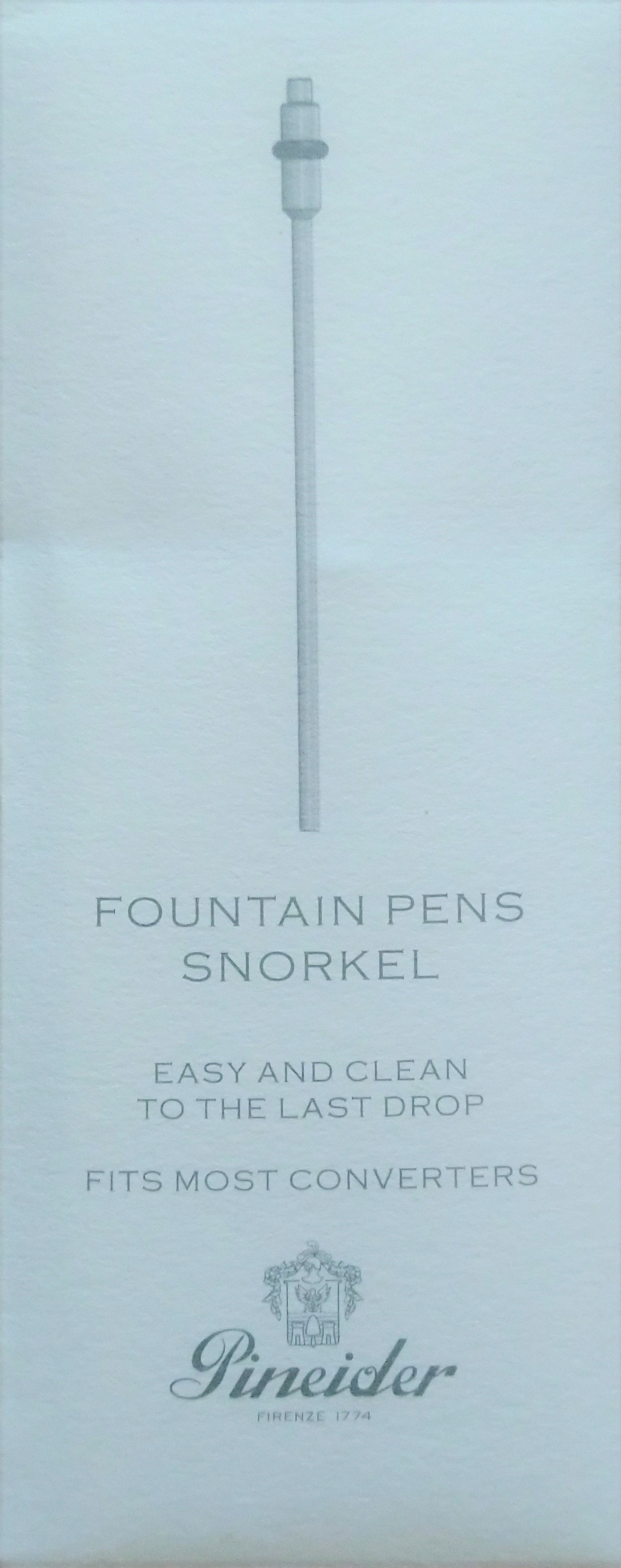 Pineider Fountain Pen Snorkel