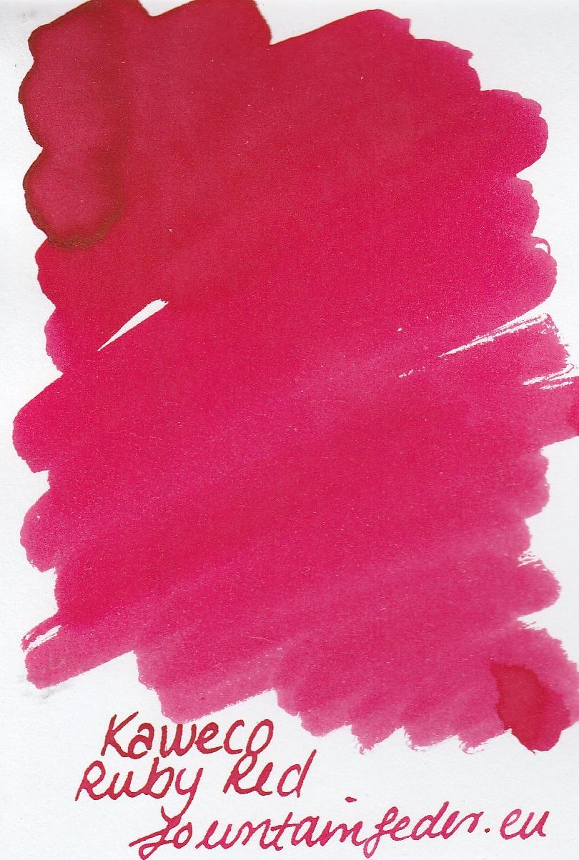 Kaweco Ruby Red Ink Sample 2ml