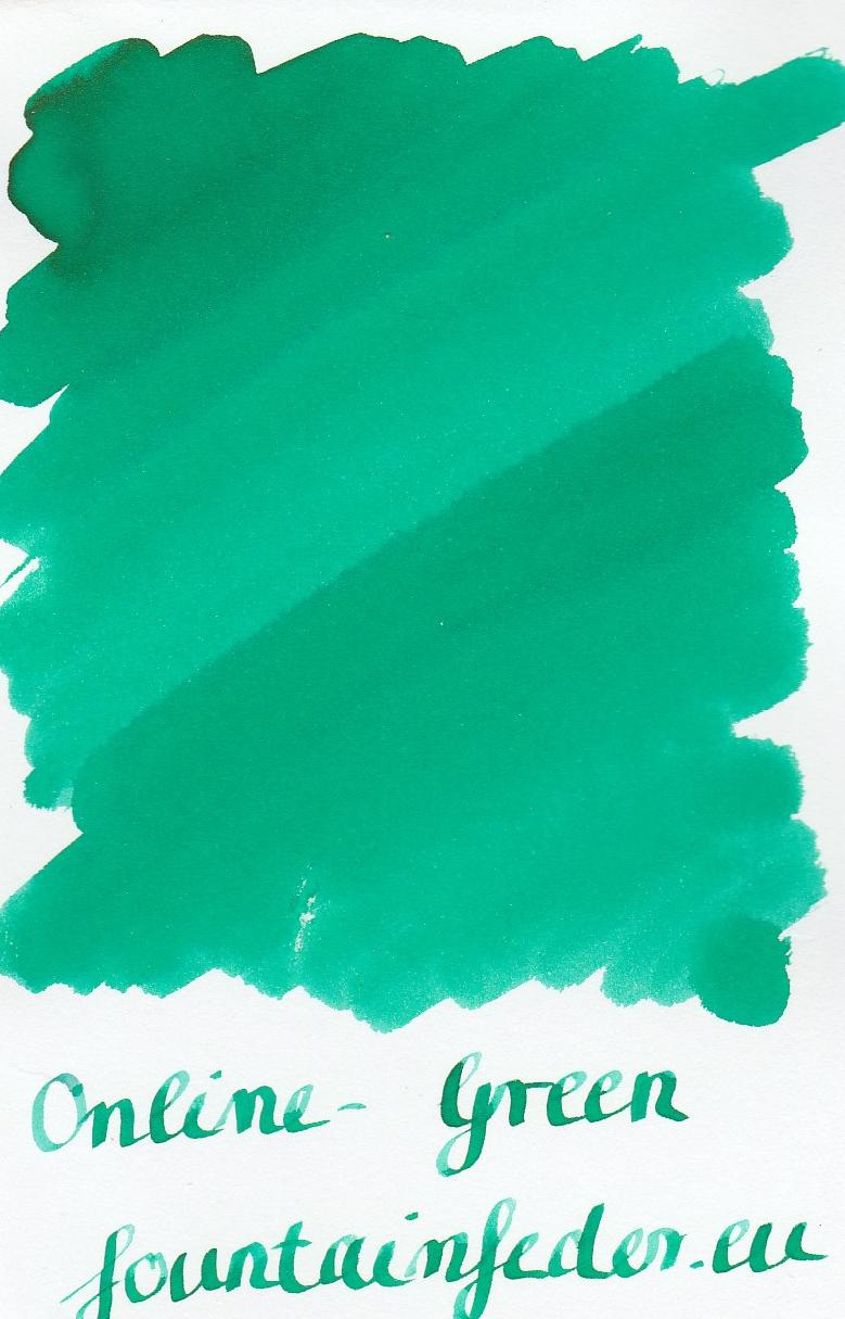Online Green Ink Sample 2ml