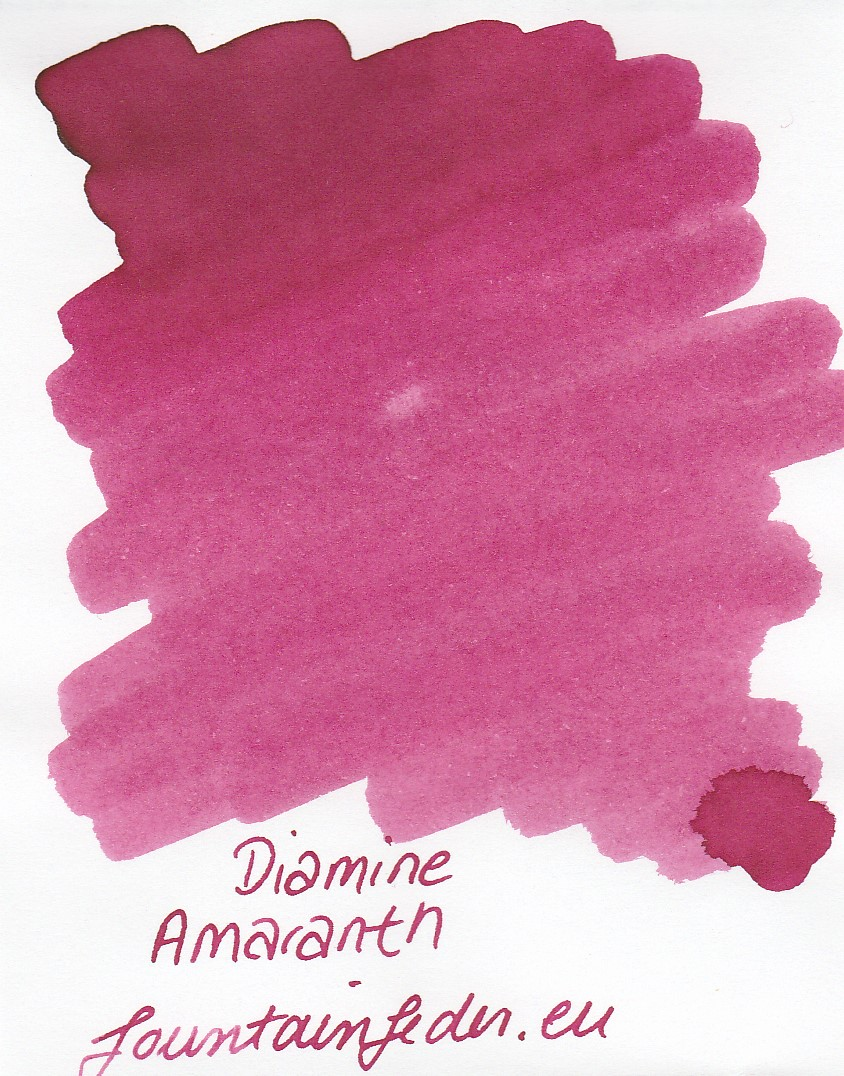 Diamine Amaranth Ink Sample 2ml
