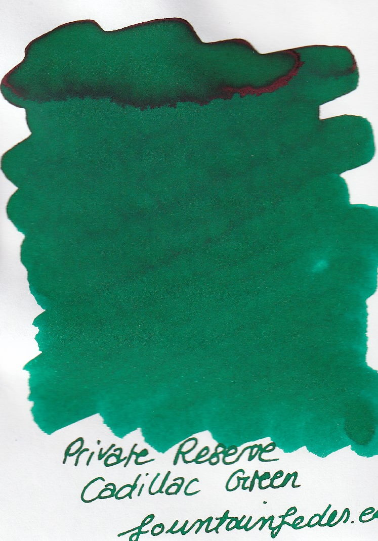 Private Reserve - Cadillac Green Ink Sample 2ml