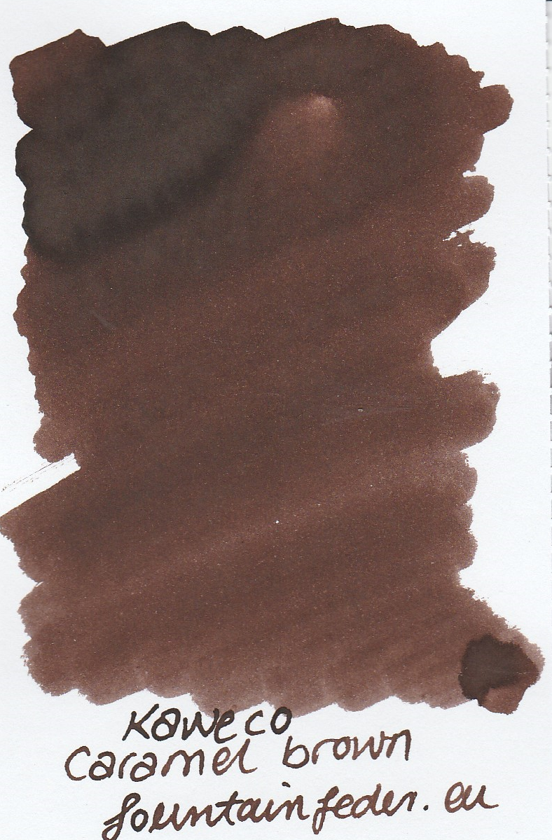 Kaweco Caramel Brown Ink Sample 2ml