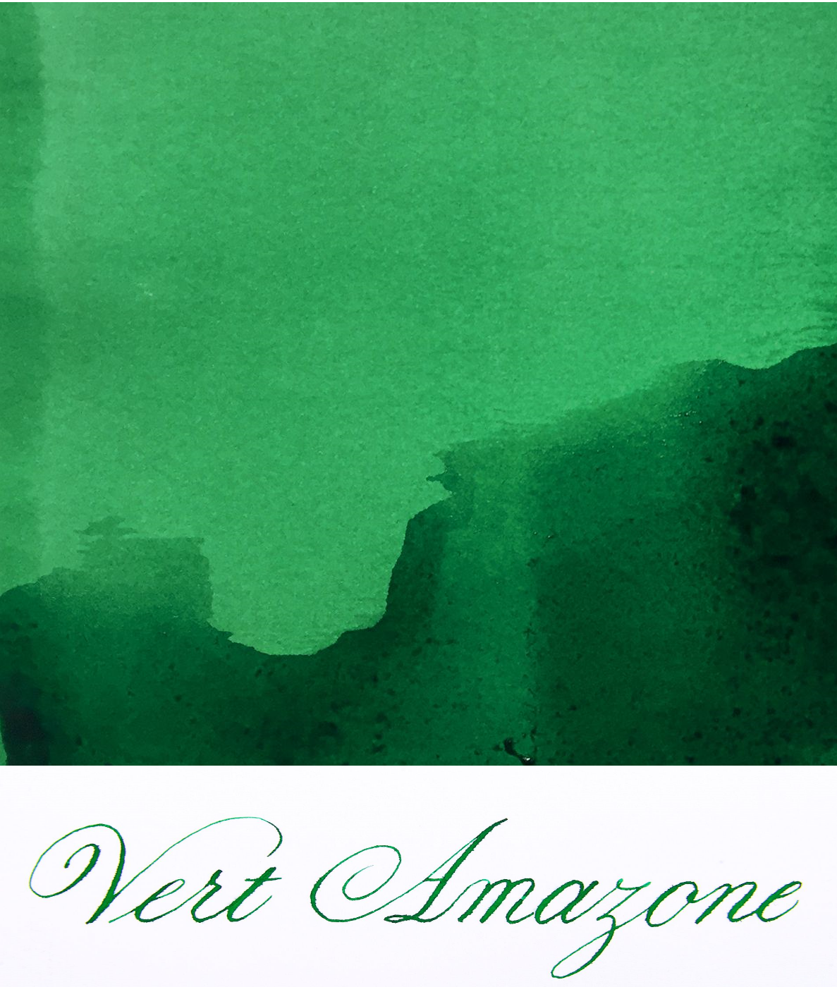Jacques Herbin  - Vert Amazone Ink Sample 2ml