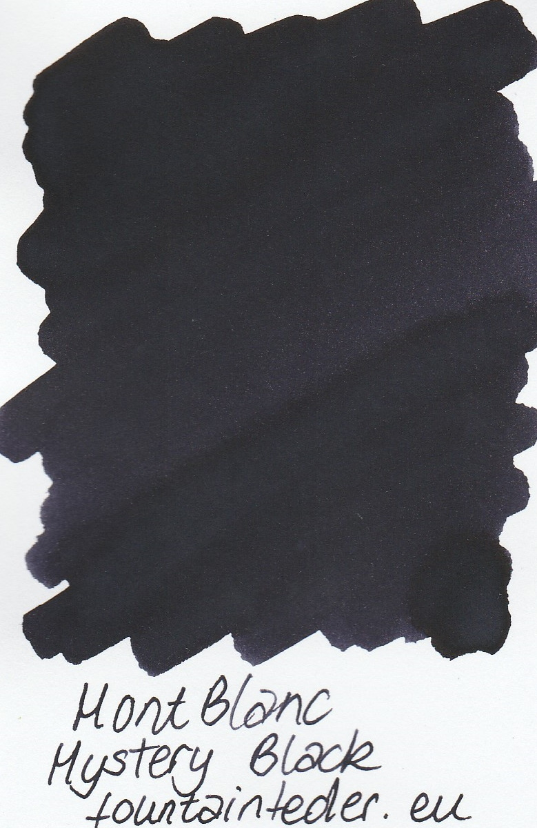Montblanc Mystery Black Ink Sample 2ml