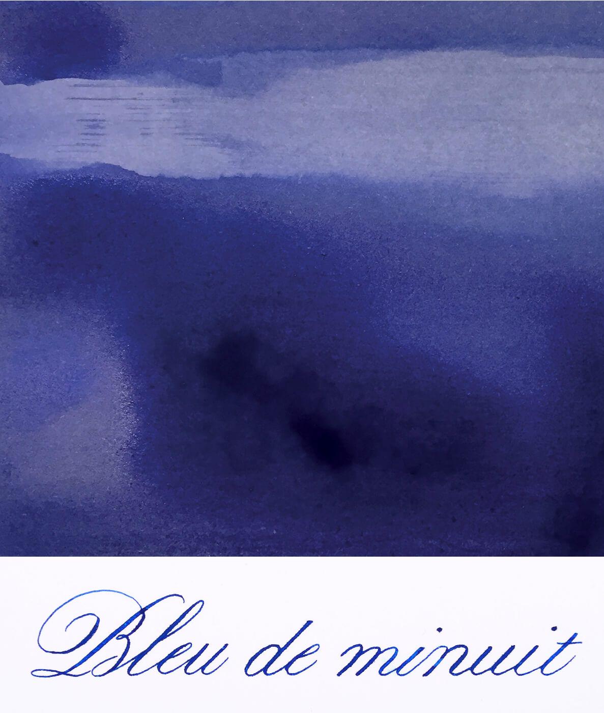 Jacques Herbin  - Bleu de minuit  Ink Sample 2ml