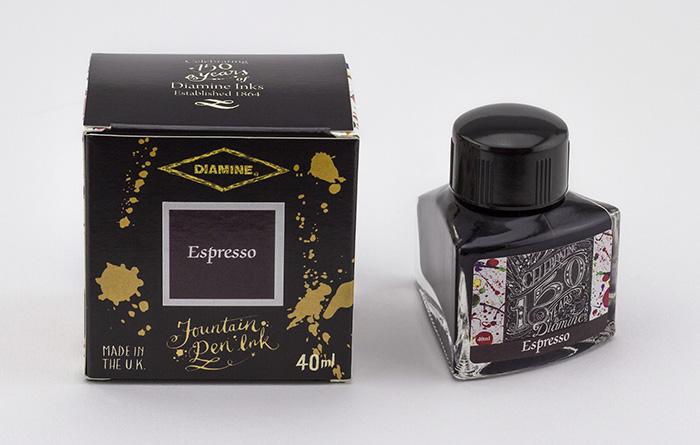 Diamine 150th Anniversary Espresso - 40ml