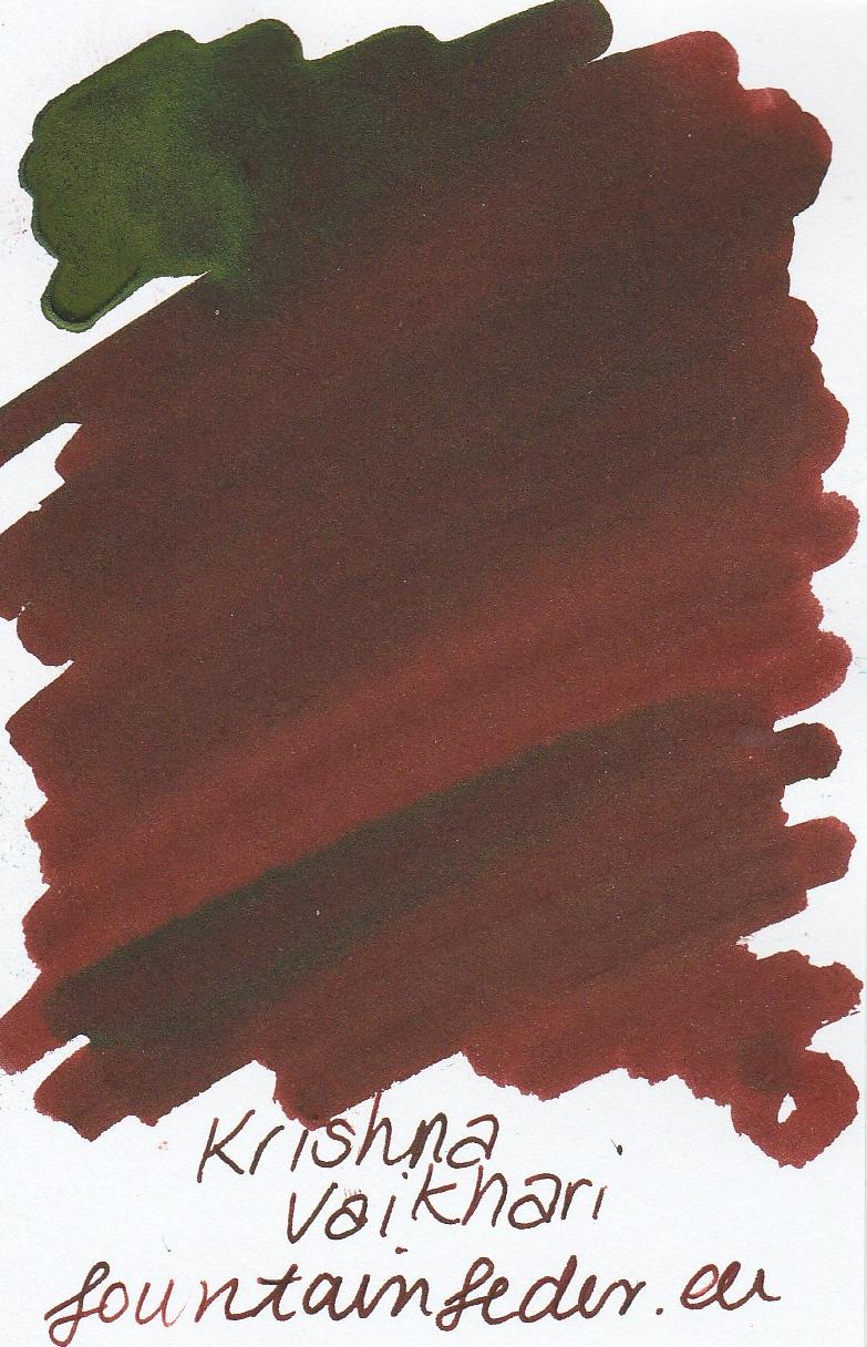Krishna RC Vaikhari Ink Sample 2ml