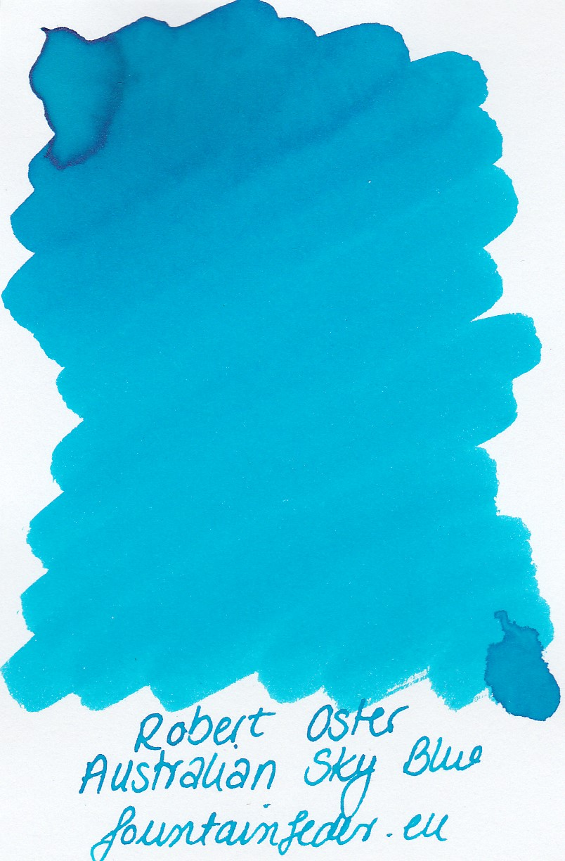Robert Oster - Australian Sky Blue Ink Sample 2ml