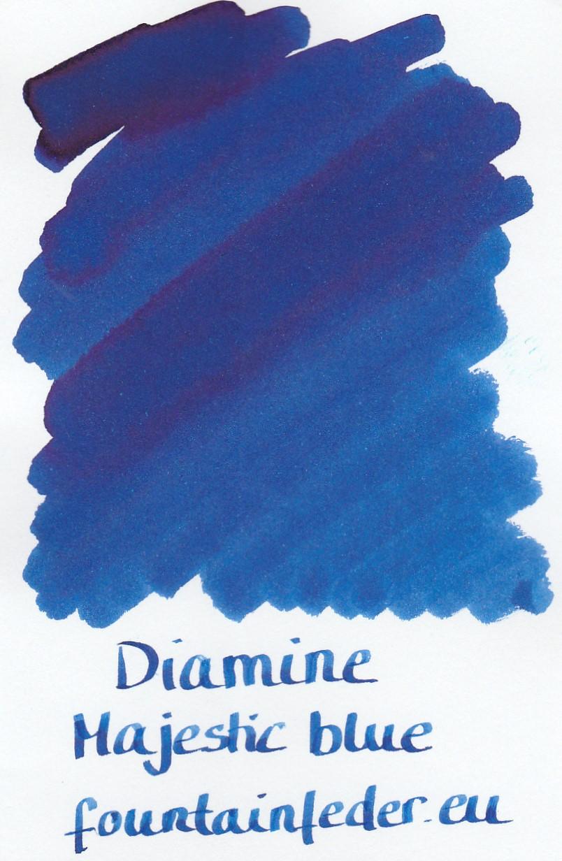 Diamine Majestic Blue Ink Sample 2ml