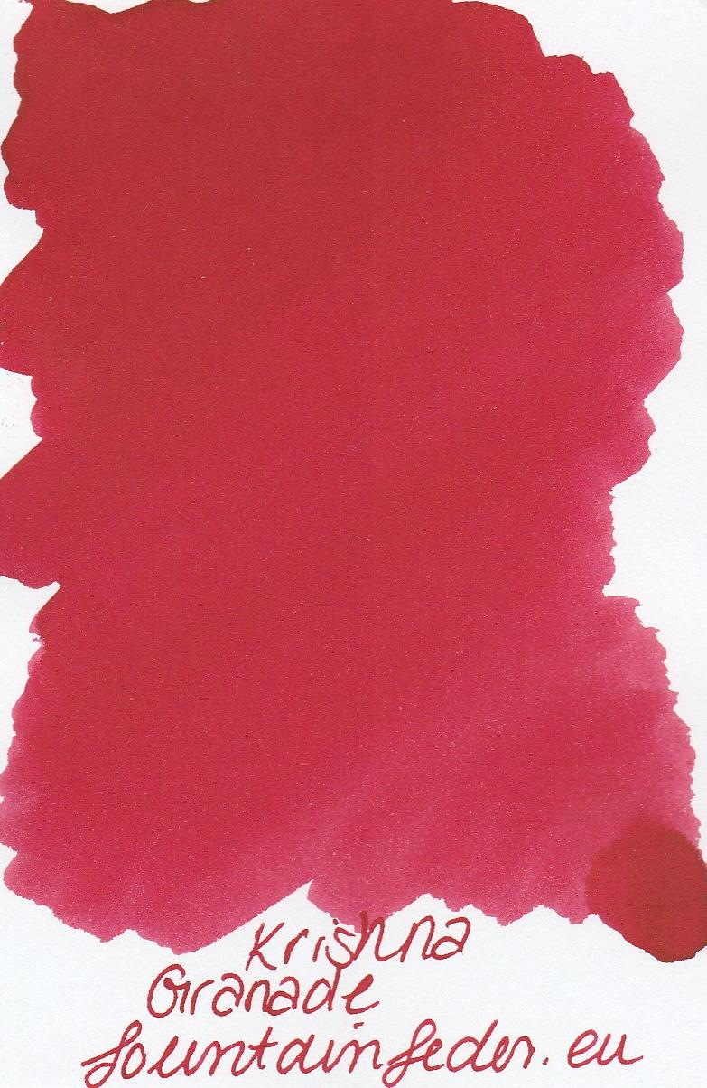 Krishna SR Granade Ink Sample 2ml