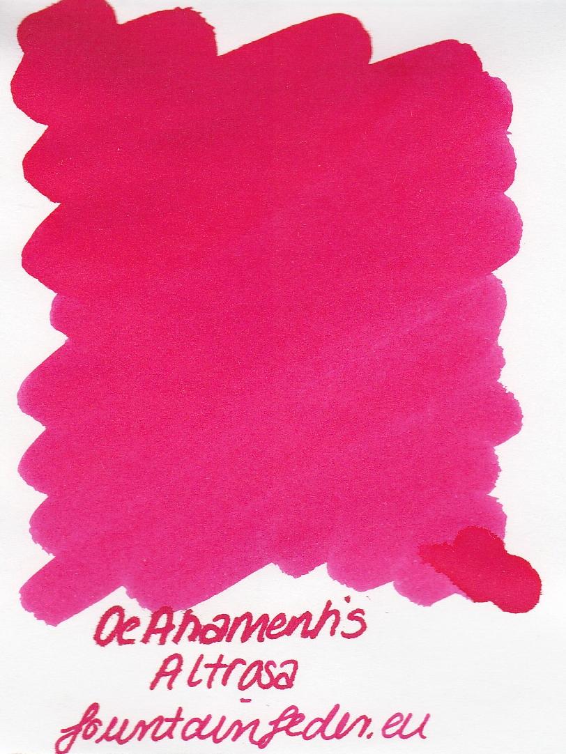 DeAtramentis Altrosa Ink Sample 2ml