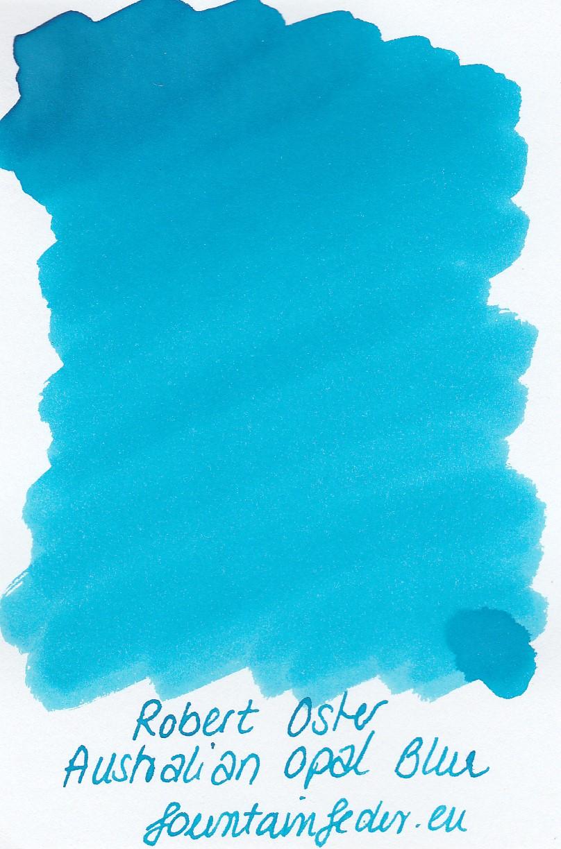 Robert Oster - Australian Opal Blue Ink Sample 2ml