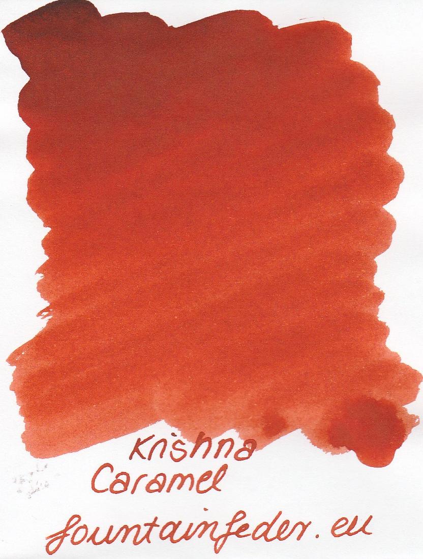 Krishna SR Caramel Ink Sample 2ml