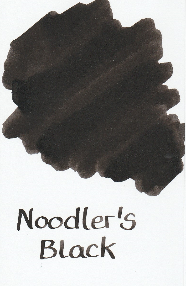 Noodler`s Black Ink Sample 2ml