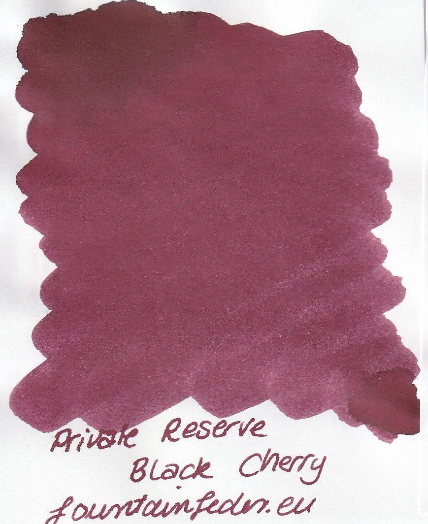 Private Reserve - Black Cherry Ink Sample 2ml