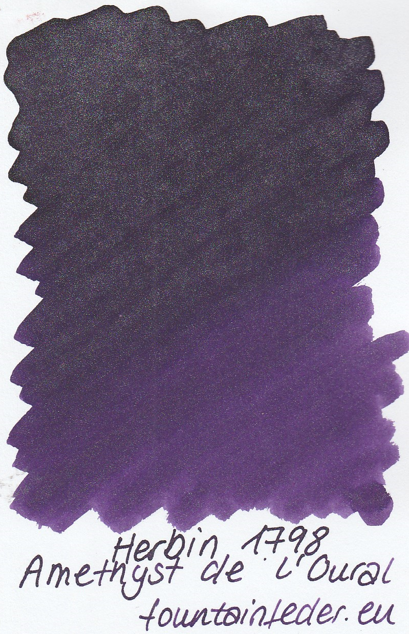 Herbin 1798 Amethyste de l'Oural Ink Sample 2ml