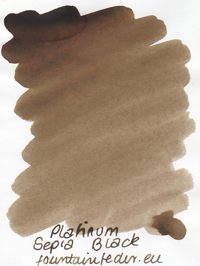 Platinum Sepia Black Ink Sample 2ml