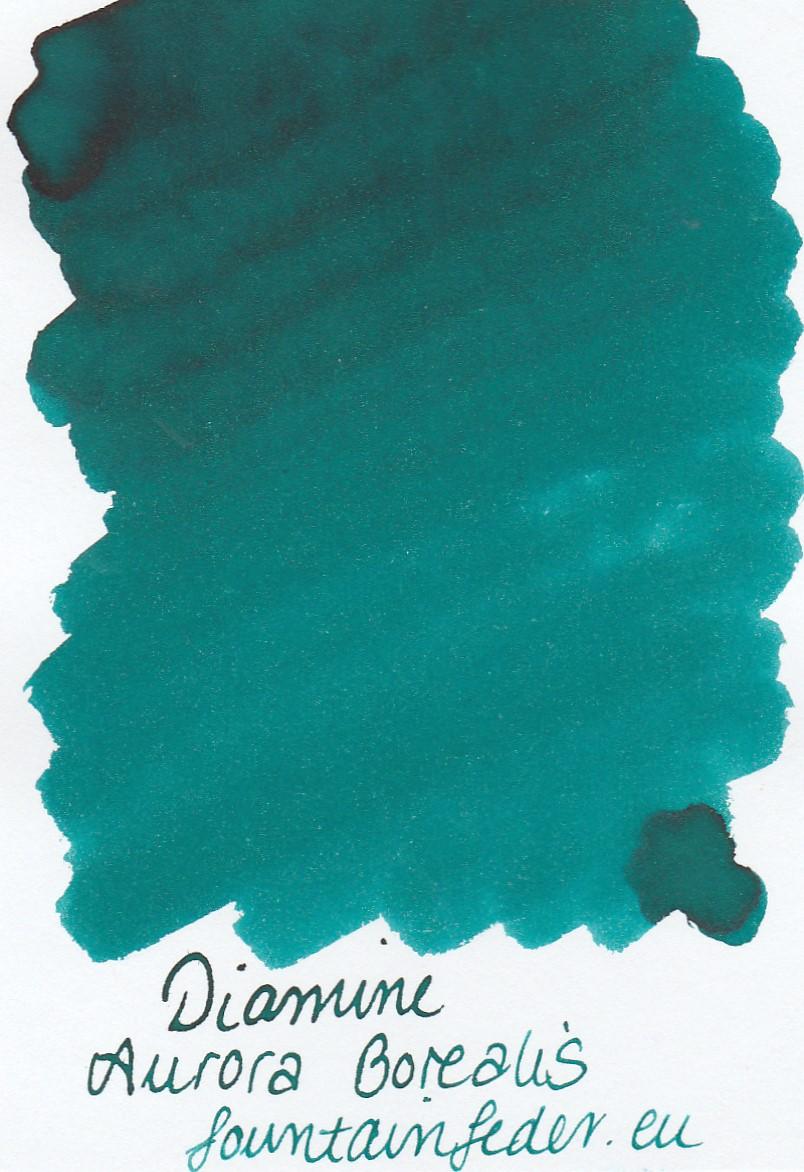 Diamine Aurora Borealis Ink Sample 2ml