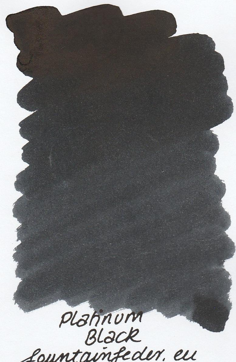 Platinum Dyestuff - Black Ink Sample 2ml