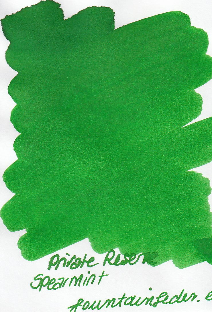Private Reserve - Spearmint Ink Sample 2ml