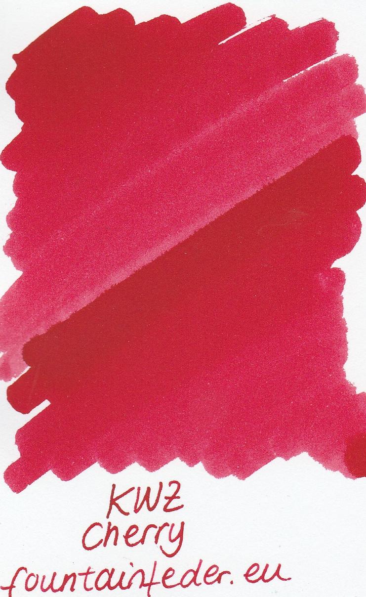 KWZ Cherry Ink Sample 2ml