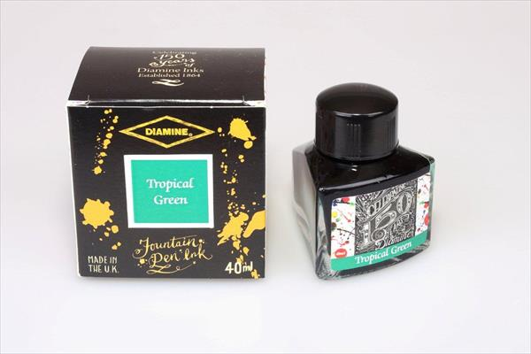 Diamine 150th Anniversary Tropical Green - 40ml