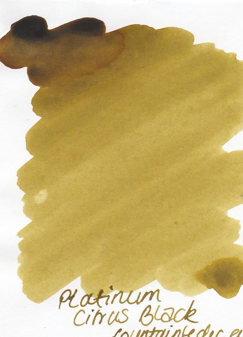 Platinum Citrus Black Ink Sample 2ml
