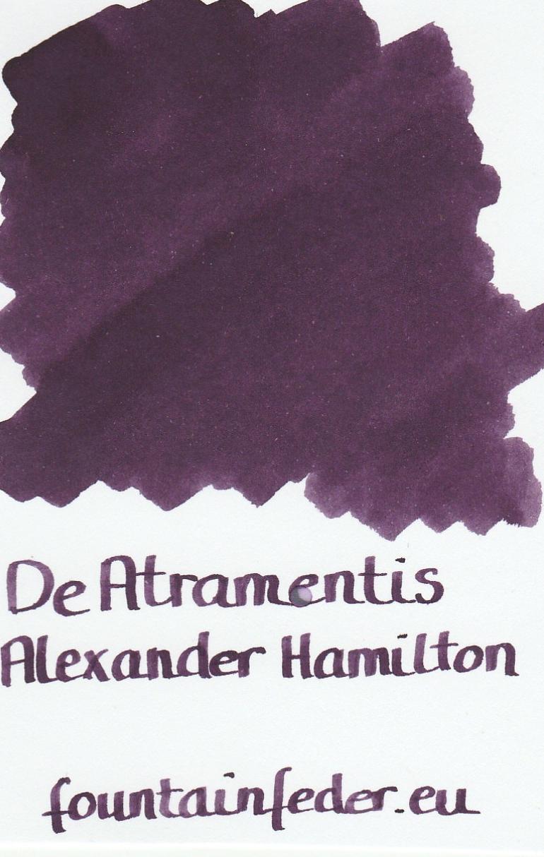DeAtramentis Alexander Hamilton Ink Sample 2ml