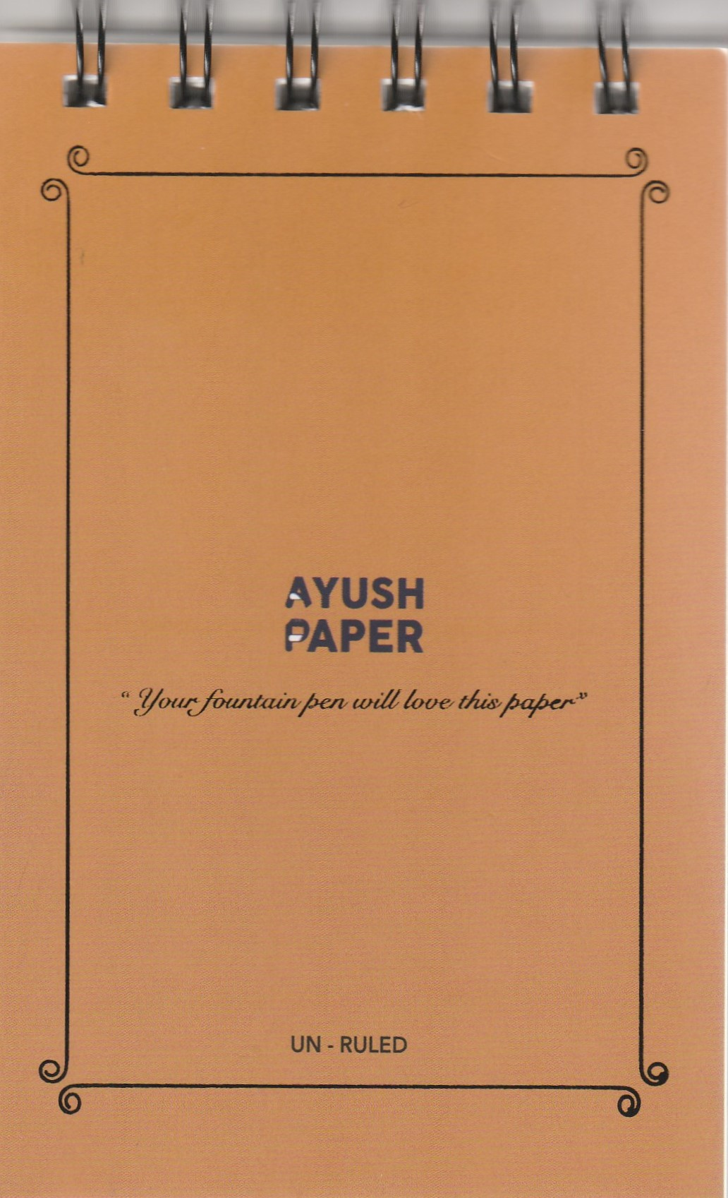 Ayush Paper Notepad A6 Blanko