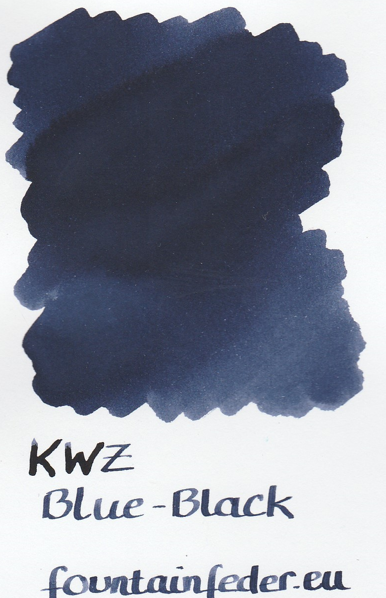 KWZ Blue Black Ink Sample 2ml