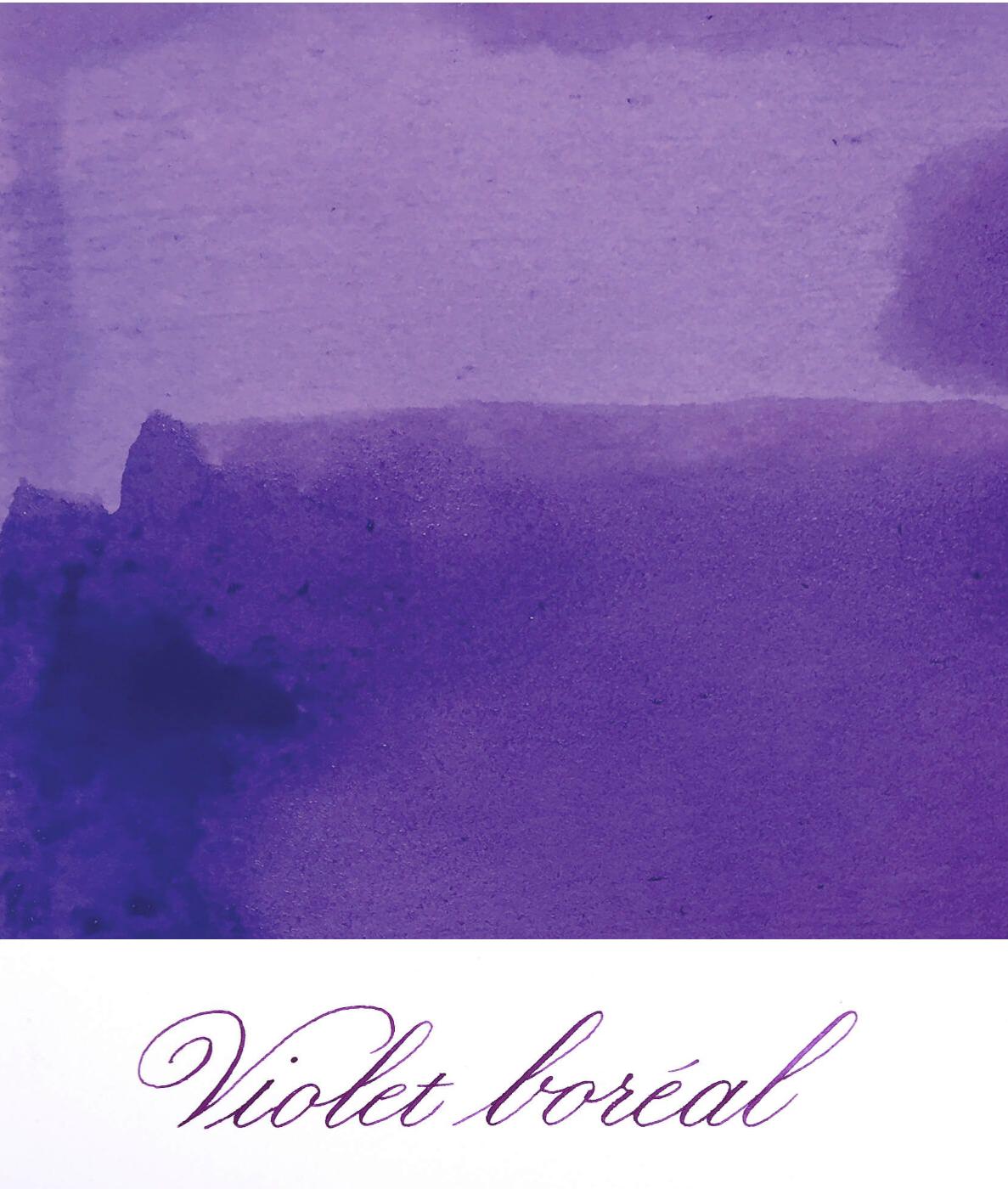 Jacques Herbin  - Violet Boreal Ink Sample 2ml