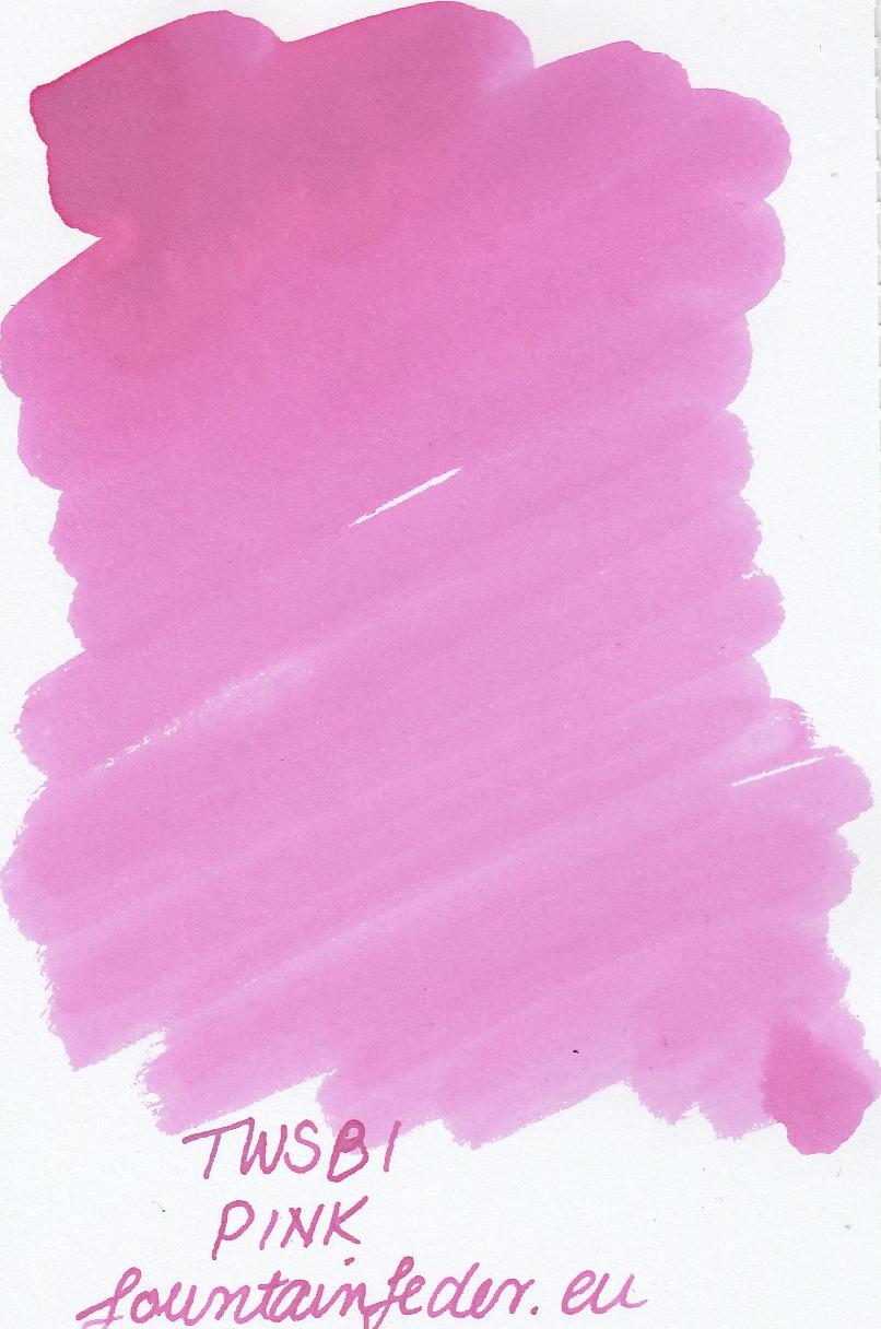 TWSBI Pink Ink Sample 2ml