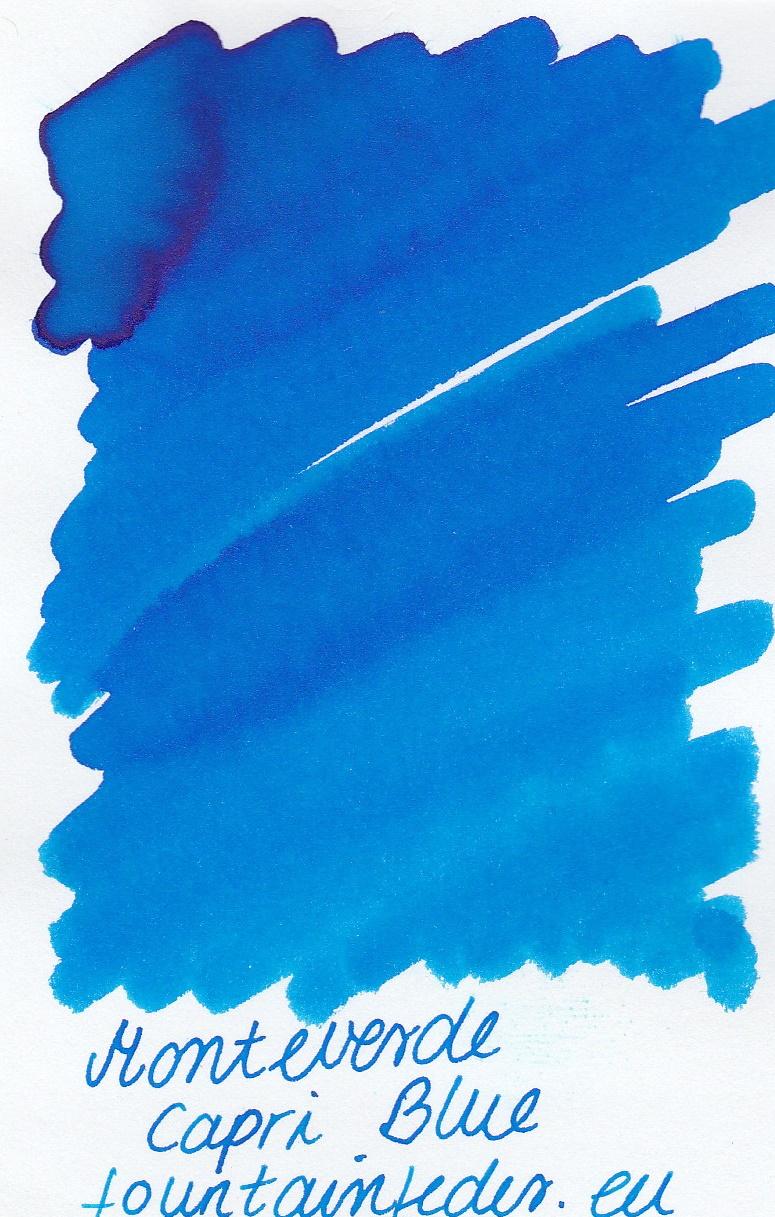 Monteverde  Capri Blue Ink Sample 2ml