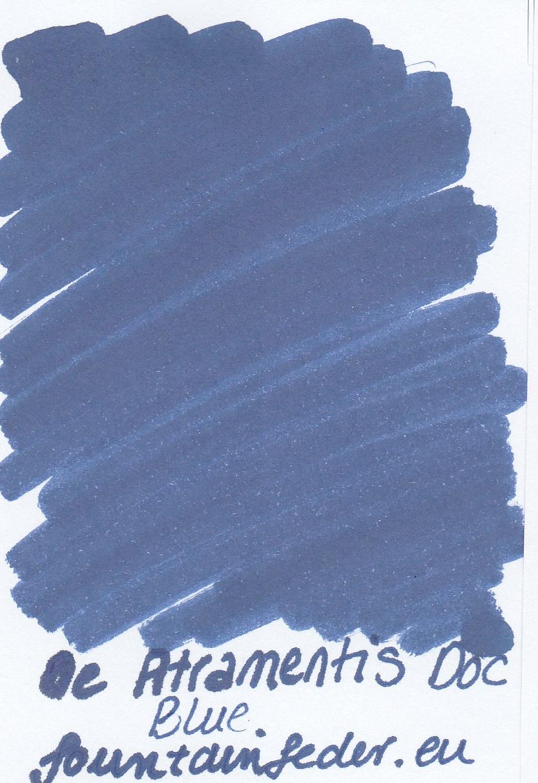 DeAtramentis Document Blue - Ink Sample 2ml