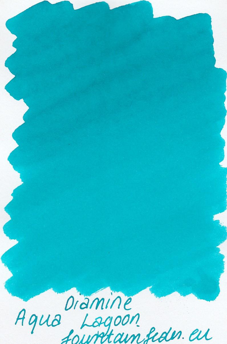 Diamine Aqua Lagoon Ink Sample 2ml