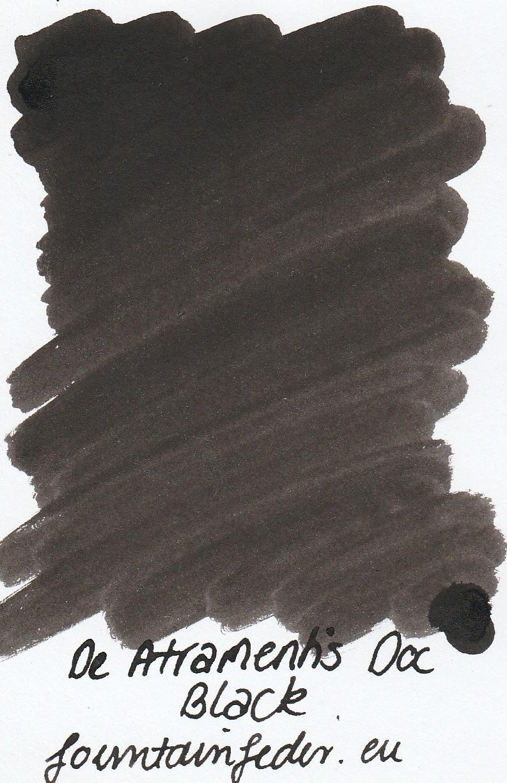 DeAtramentis Document Black - Ink Sample 2ml