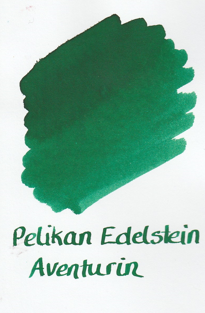 Pelikan Edelstein Aventurine Ink Sample 2ml