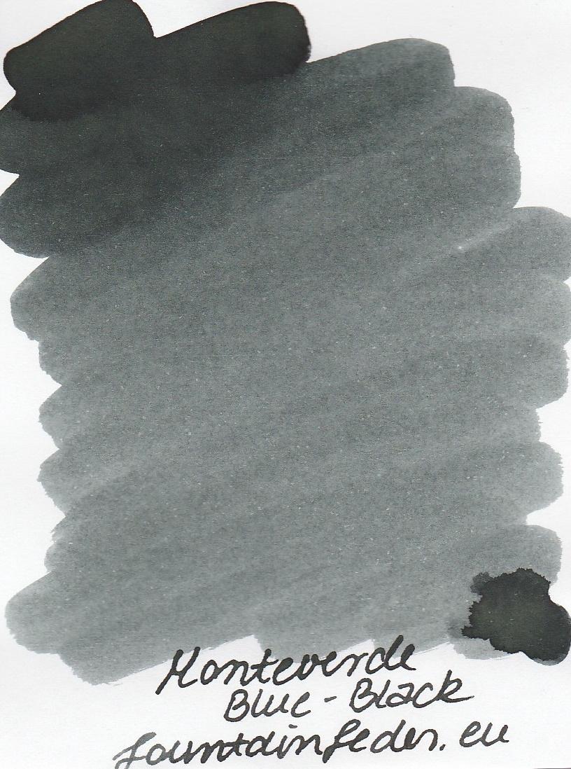 Monteverde  Blue Black Ink Sample 2ml