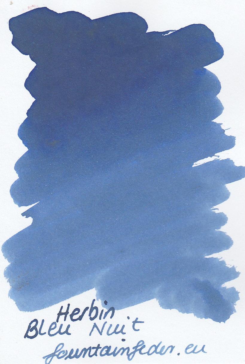 Herbin Bleu Nuit Ink Sample 2ml