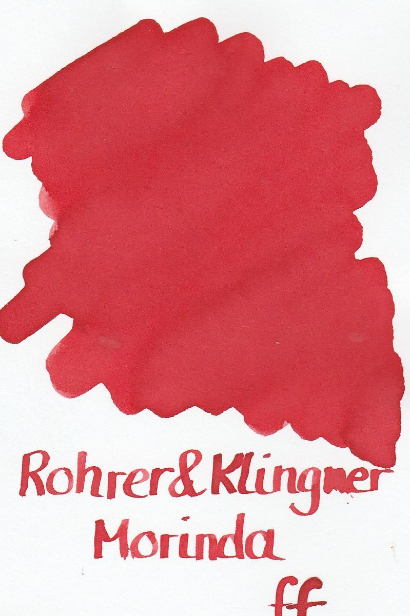 Rohrer & Klingner Morinda Ink Sample 2ml