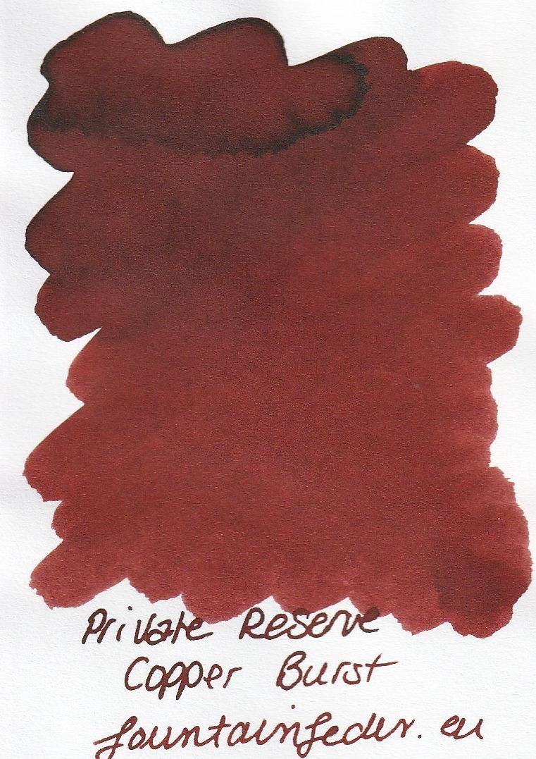 Private Reserve - Copper Burst Ink Sample 2ml