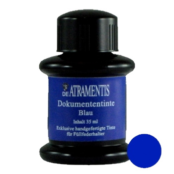 DeAtramentis Document Ink Blue 45ml