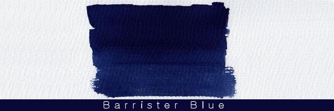 Blackstone Barrister Blue Waterproof Ink 30ml