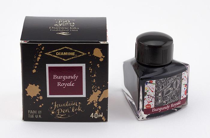 Diamine 150th Anniversary Burgundy Royal - 40ml